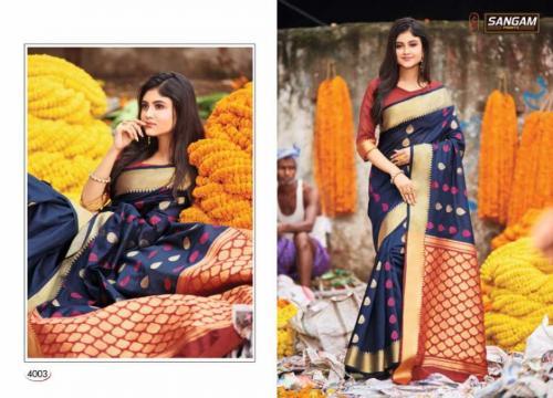 Sangam Prints Aaradhya Handloom 4003 Price - 1125