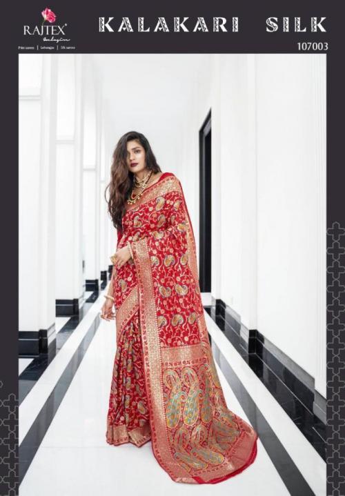 Rajtex Saree Kalakari Silk 107003 Price - 3035