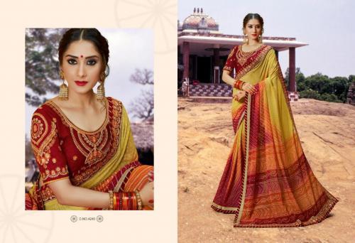 Kessi Fabrics Bandhej 4240 Price - 1199
