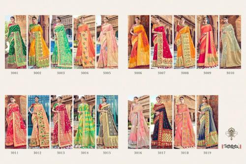 Tathastu Saree 3001-3019 Price - 49045