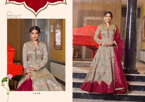 Virasat Gowns Muskan 1068 Price - 3395