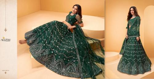 Alizeh Lehenga Sparkle 1027-D Price - 6175