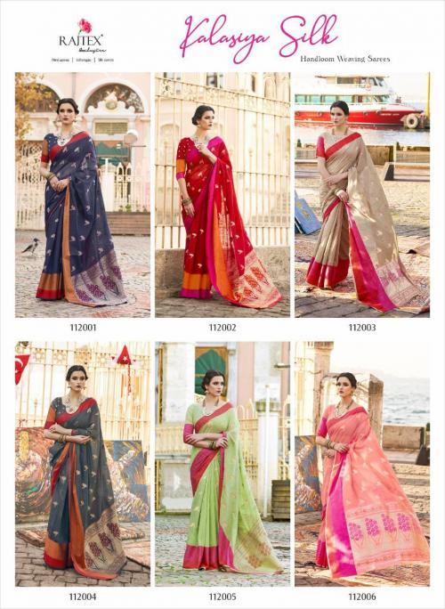 Rajtex Kalasiya Silk 112001-112006 Price - 7170