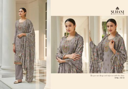 Mohini Fashion Suhani 101-D Price - 1945
