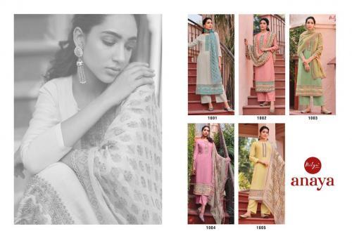 Lt Fabrics Nitya Anaya 1001-1005 Price - 8245