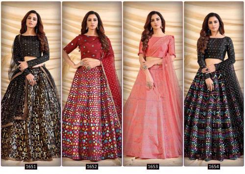Shubhkala Girly 1651-1654 Price - 9300