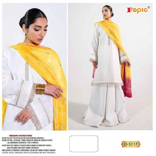 Fepic Rosemeen 5117 Dress Material