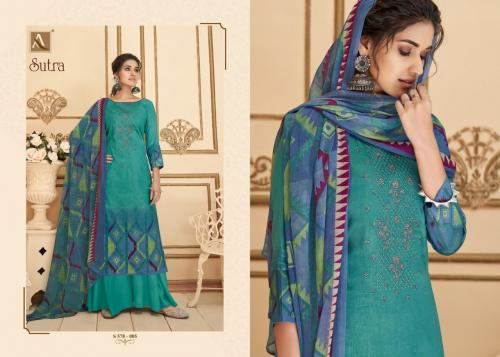 Alok Suits Sutra 578-005 Price - 785