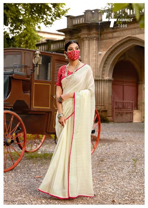 LT Fabrics Ananta Silk 7006 Price - 1195