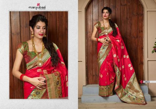 Manjubaa Maithili Silk 3401-3410 Series