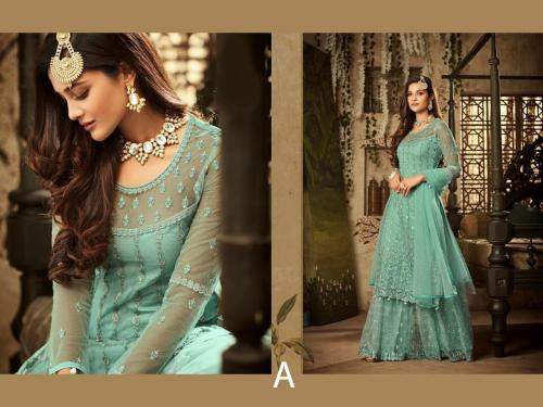 Mohini Fashion Glamour 61004 A Blue
