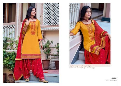 Kessi Fabric Patiala House 5936 Price - 849