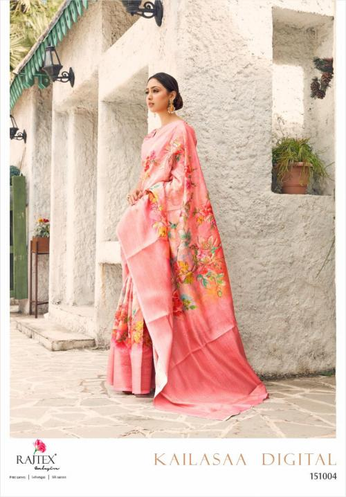 Rajtex Saree Kailasaa Digital 151004 Price - 1460