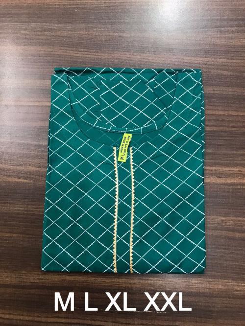 Non Catalog Jaipuri Rayon Print Kurtis E Price - 325