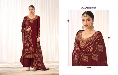 Aashirwad Creation Rashmi 8358-8363 Series