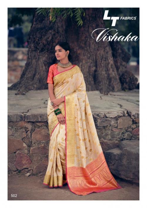 LT Fabrics Vishaka Silk 502 Price - 1125