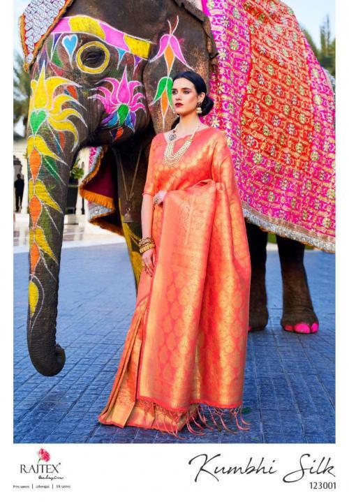 Rajtex Kumbhi Silk 123001-123006 Series