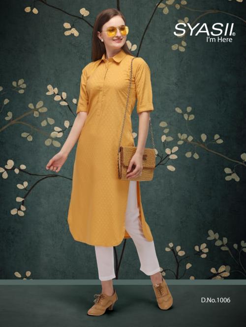 Syasii Designers Classic 1006 Price - 375