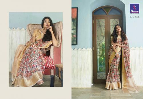 Shangrila Saree Trisha Digtal Linen 51407 Price - 1215
