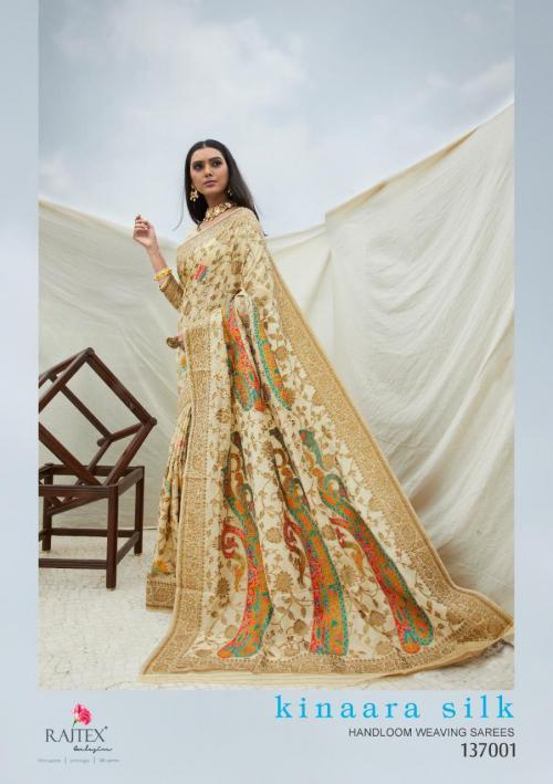 Rajtex Saree Kinaara Silk 137001-137004 Series