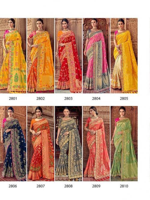 Tathastu Saree 2801-2810 Price - 46680