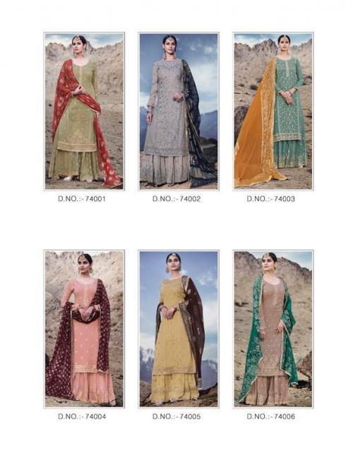 Mohini Fashion Glamour 74001-74006 Price - 13770