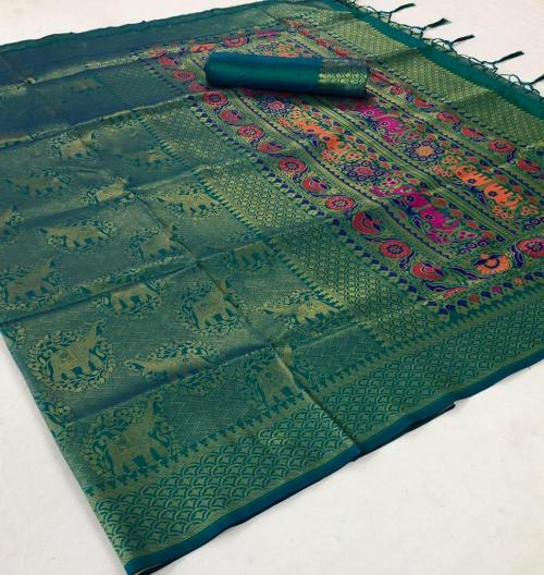 Rajtex Kamaakya Silk 149005 Price - 1615