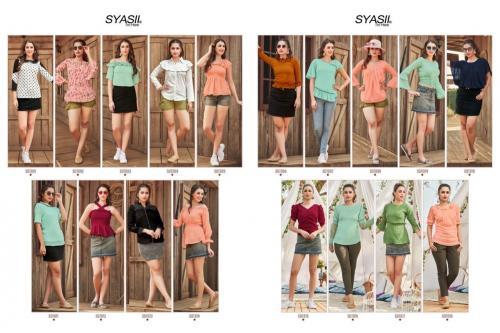 Syasii Designers Sumeer Beauty 1001-1018 Price - 7110