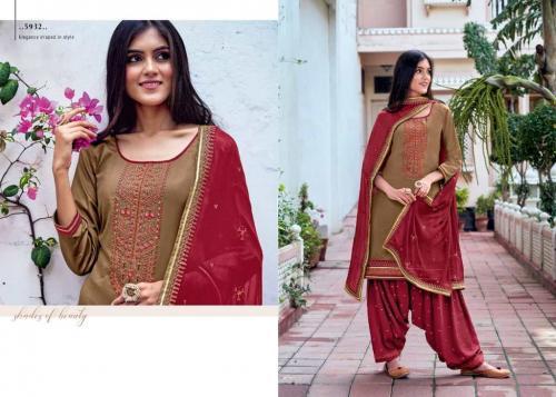 Kessi Fabric Patiala House 5932 Price - 849