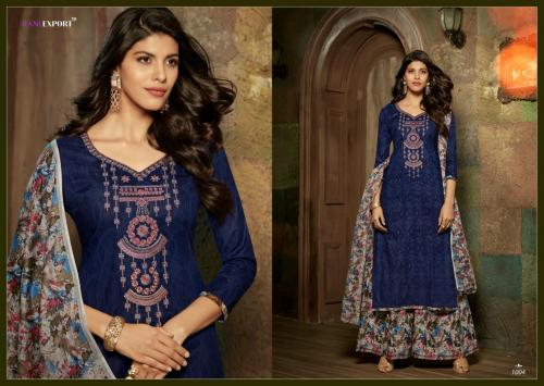 Rani Exports Kashida Kari 1004 Price - 695