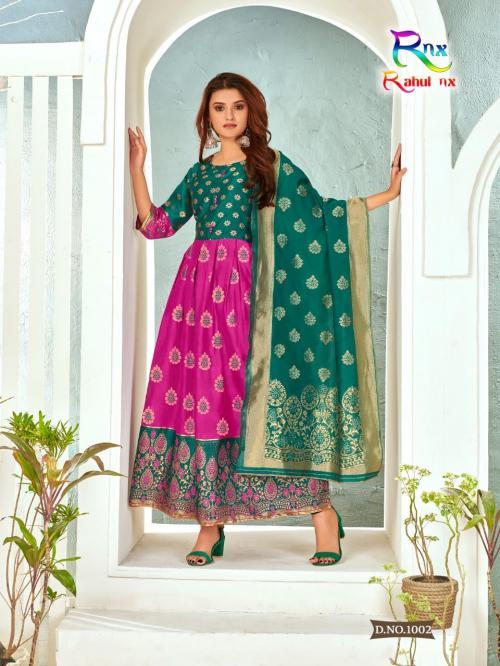 Rahul Nx Minakari Gown 1002 Price - 670
