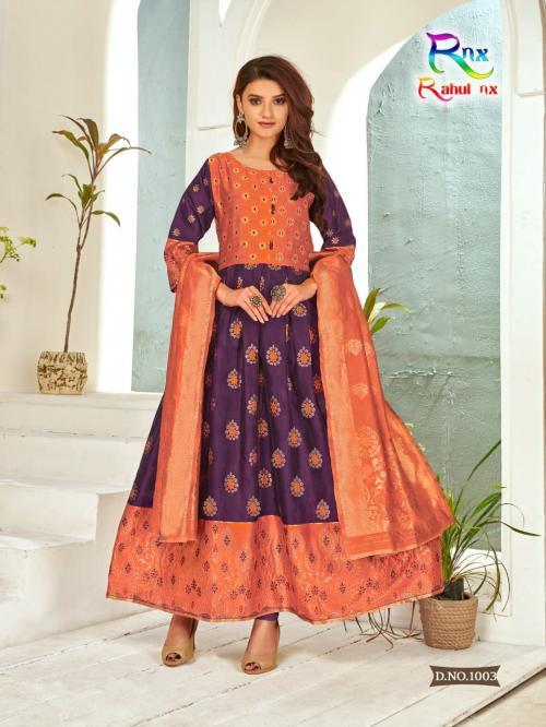Rahul Nx Minakari Gown 1005 Price - 670