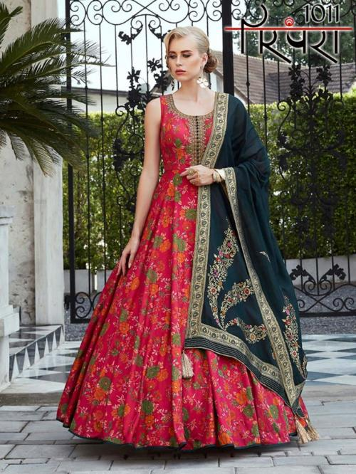 Parampara Gowns Vol-3 1011-1014 Series