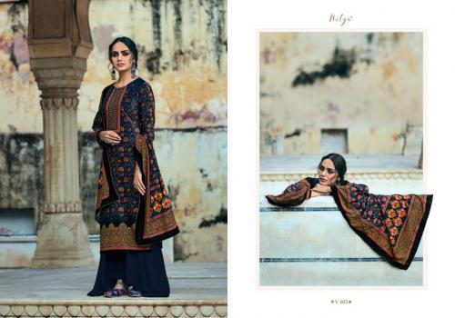 LT Fabrics Nitya Velvet 402 Price - 1660