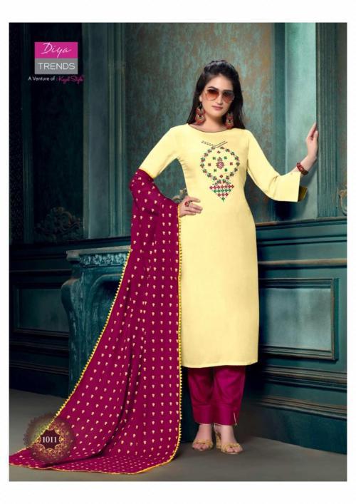 Diya Trendz Odhani 1011 Price - 740