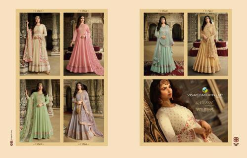 Vinay Fashion Kaseesh Rang Mahal 11761-11766