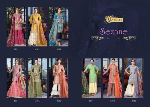 Swagat Violet Sezane 8001-8009 Price - 23365