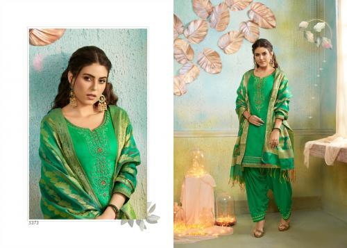 Kessi Fabrics Silk Patiyala 5373 Price - 999