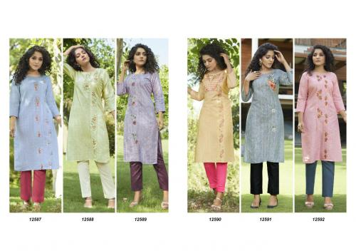 Kajree Kalaroop Vintage 12587-12592 Price - 3600