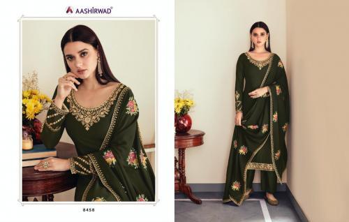 Aashirwad Creation Sunehri 8458-8463 Series