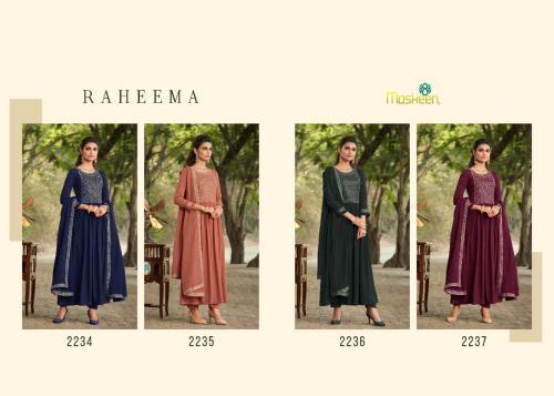 Maisha Maskeen Raheema 2234-2237 Price - 6116