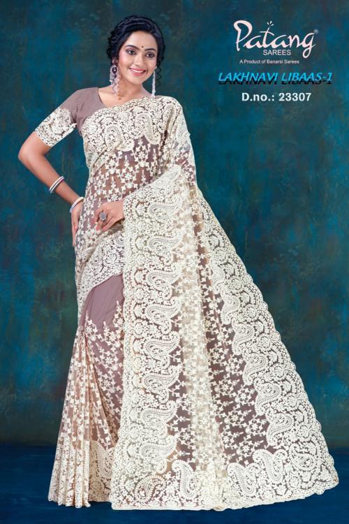 Patang Sarees Lakhnavi Libaas 23307 Price - 2395