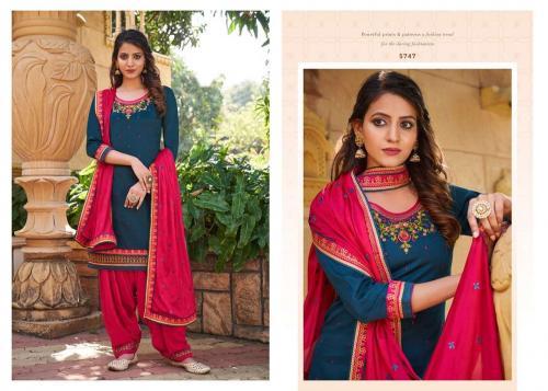 Kessi Fabrics Patiyala House 5747 Price - 899