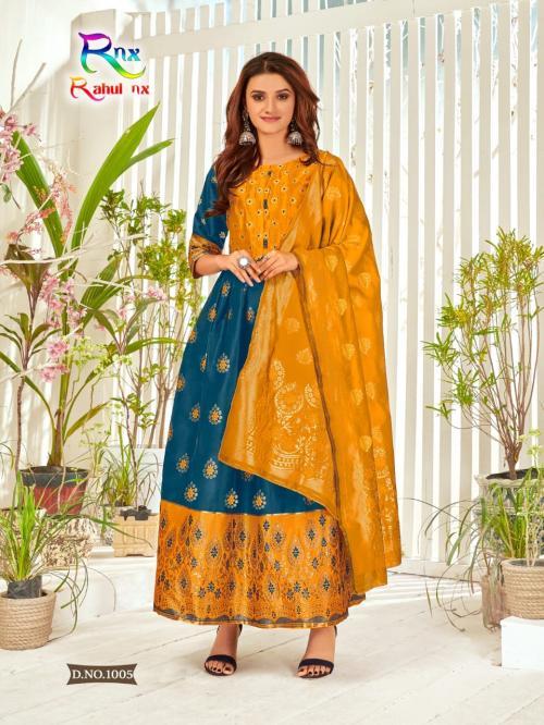 Rahul Nx Minakari Gown 1003 Price - 670