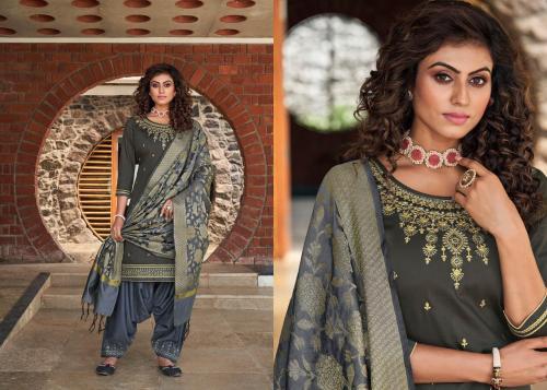 Kessi Fabrics Silk By Patiyala 4006 Price - 949