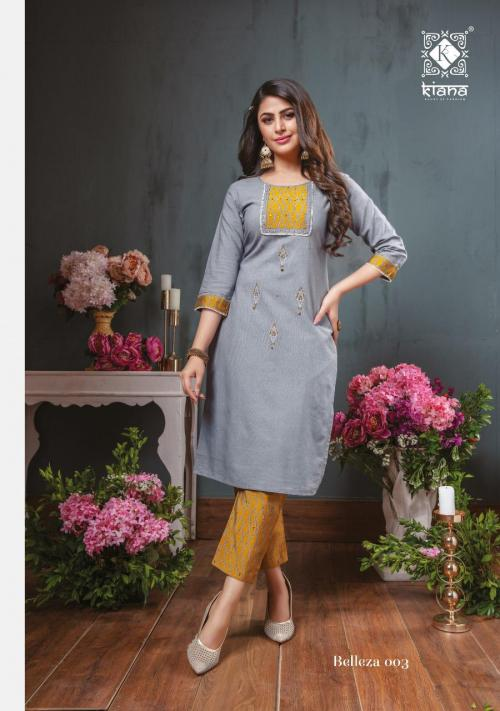 Kiana Fashion Belleza 003 Price - 775