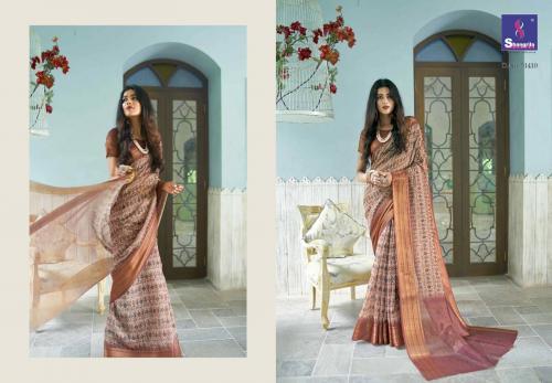 Shangrila Saree Trisha Digtal Linen 51410 Price - 1215