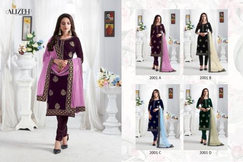 Alizeh Zaida 2001 Colors Price - 7180