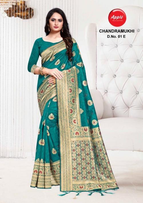 Apple Saree Chandramukhi 01-E  Price - 895