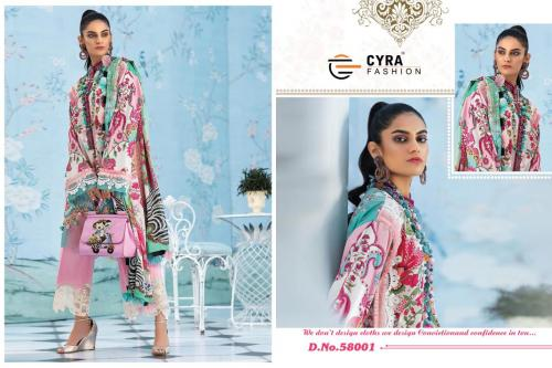 Cyra Fashion Alizah Vol-4 Digital Print Collection 58001-58006 Series